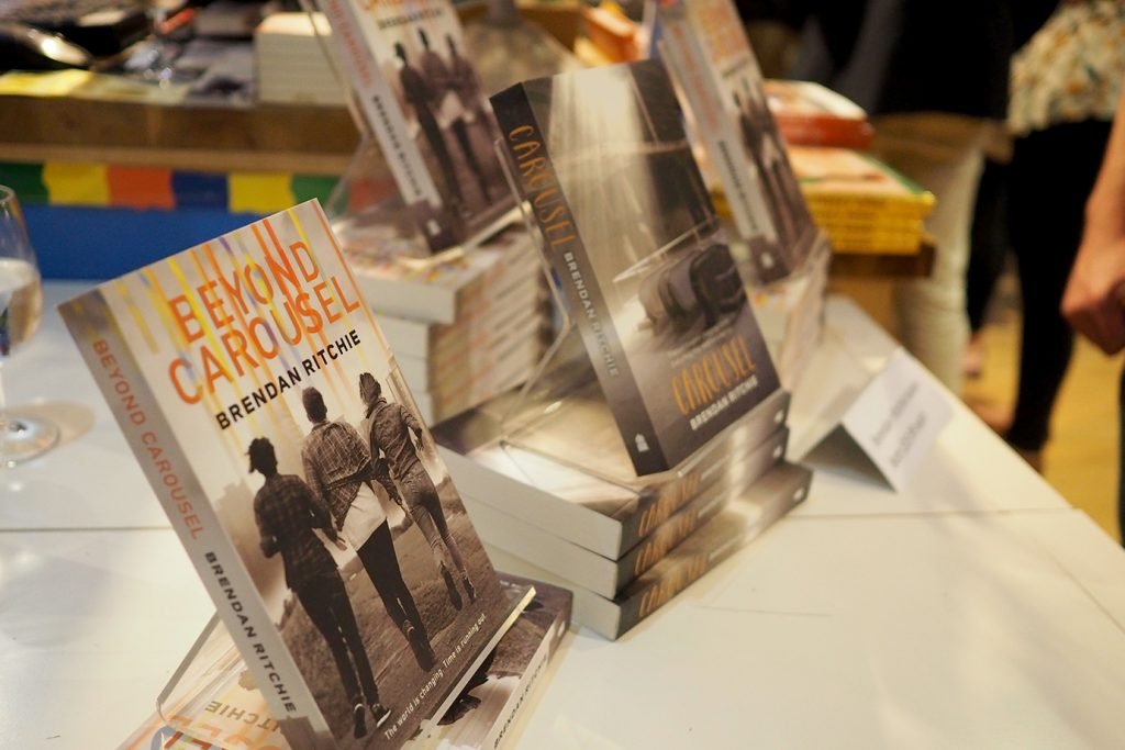 Beyond Carousel by Brendan Ritchie Launch - Beaufort Street Books